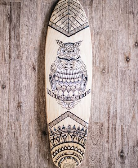 OWL Design Skate Deck