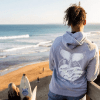 Unisex Save our Seas Hoodie Grey